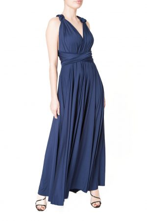 navy multiway dress