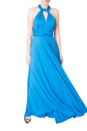 blue multiway bridesmaid dress