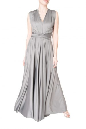 grey multiway dress
