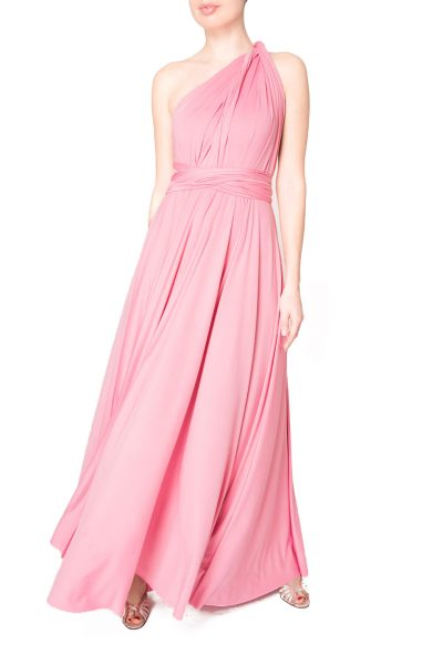 pink multiway dress