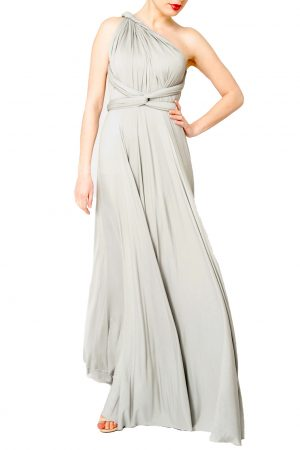 light grey multiway dress