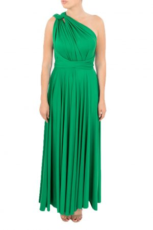 green multiway dress