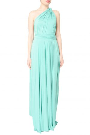 mint green multiway dress
