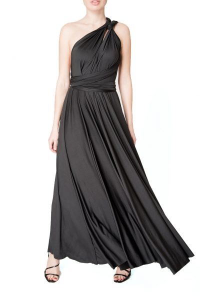 black multiway dress