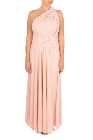 baby pink multiway dress