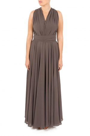 grey multiway bridesmaid dress