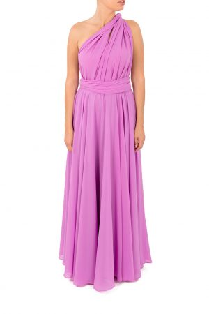 purple multiway dress