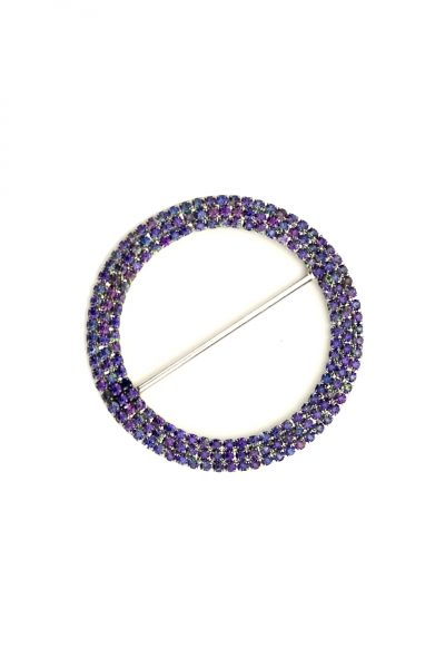 Large circle purple