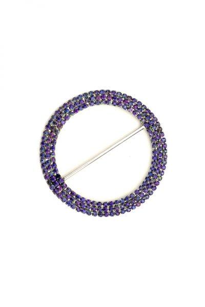 Large circle purple